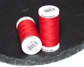 1 Reel Gutermann Sewall Thread Red - 156 - Polyester 274 yards (250m)
