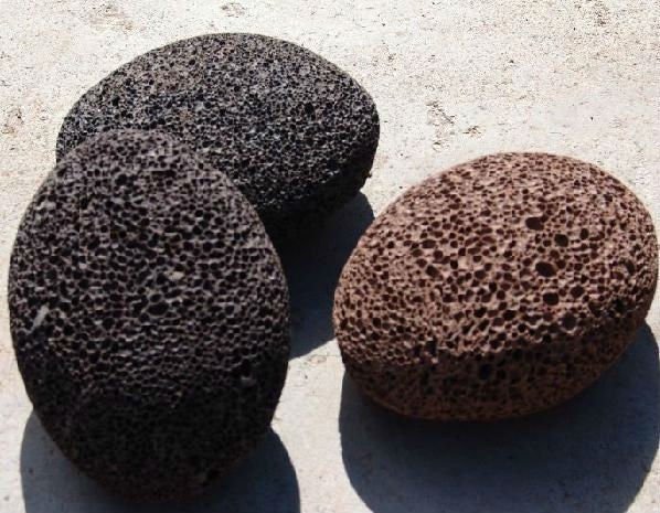 Natural lava rock pumice stone exfoliating earth stone for Lava rock pavers