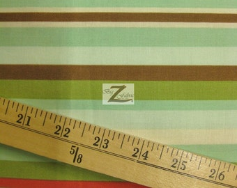 """Stripe Domestic Diva By Riley Blake 100% Cotton Fabric - 45"""" Width Sold By The Yard (FH-454)"""