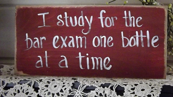 how to study for the bar exam on your own