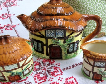 Storybook Tea Set, Devon Cobb, Burlington Ware