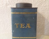 Beautiful Vintage Tea Tin