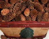 "Small pinecones 1/2""-1 1/2"" -  50 for 4 dollars, 100 cones for 7 dollars, 150 for 10 dollars, 200 for 12 dollars"
