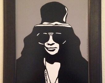 Slash of Guns N' Roses Art Print