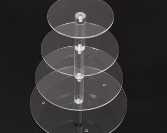 4 Tier Round Cake Stand For Birthday Wedding Party, cupcake stand sku B944102