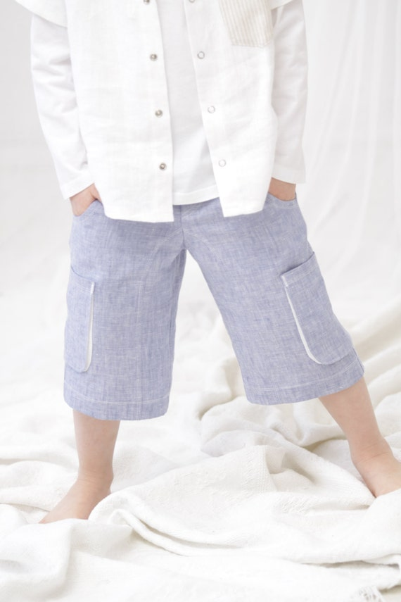 Boys Linen Suits. Dress up the smallest member of the family in a handsome, sophisticated suit that is ideal for use at any formal or semi-formal occasion. Boys' linen suits are perfect for creating a stunning, completed look that is suitable for birthdays, weddings and formal family get-togethers.