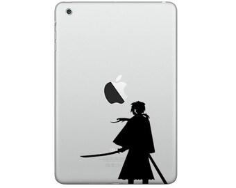 Apple iPad / iPad mini / Decal sticker - Kenshin Himura 2