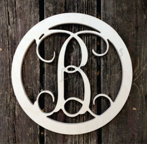 5 inch wooden letters 18 inch vine script wooden letter with 2 inch border 20222 | il 570xN.581122278 s9u5