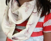 cotton infinity scarf made in Honduras