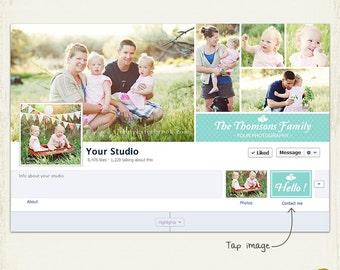 INSTANT DOWNLOAD - FB41 Facebook Timeline Cover