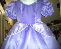 Sophia the First Costume - Authentic looking and custom made for your measurements