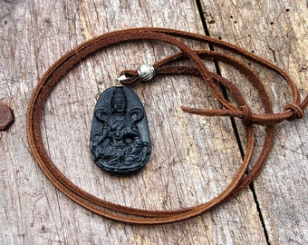 Guanyin pendant necklace