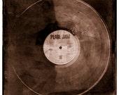 Pearl Jam Vinyl Album Ten Photograph