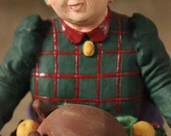 Vintage Aunt Martha Department 56 Figurine