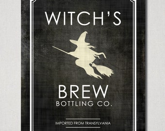 Instant Download - Witch's Brew Digital Printable