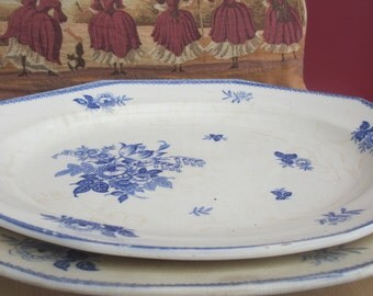 Antique Serving Platters Whieldon Ware Rosemary F Winkle & Co