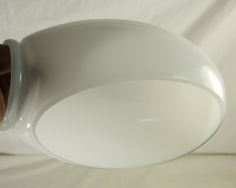"""White Gooseneck Lamp Replacement Shade  for 2 1/4"""" Socket Fitting"""
