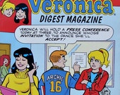 RESERVED ~ 1992 Archie Digest Library Betty & Veronica No 53