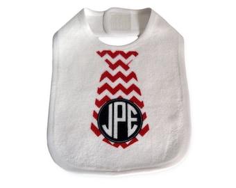Personalized Baby Bib   Soft Fleece Baby Bib   Boys Monogram Baby Bib