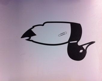 Black Duck Die Cut