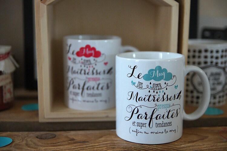 Le mug des ma tresses presque parfaites personnalisable - Petit cadeau de noel sympa ...