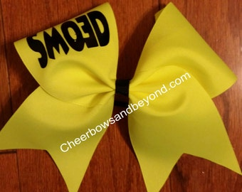 SMOED Cheer Bow And Shirt Option
