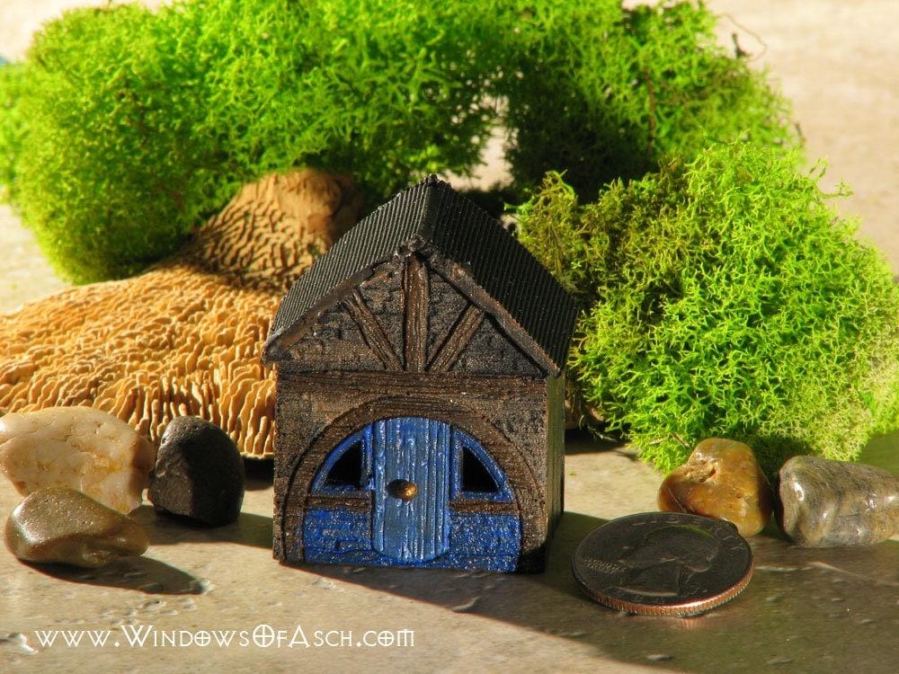 Miniature Hobbit Hole For Terrariums Gardens