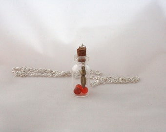 Take Autumn With You | Bottle Necklace