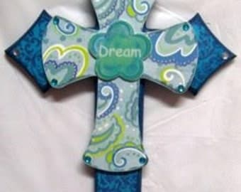 CLEARANCE Dream - Turquoise Cross