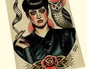 Rachael (Blade Runner) Art Print