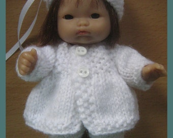 "Knitting Pattern for 5"" Berenguer Dolls Clothes"
