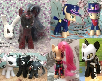 DESIGN YOUR OWN Custom g4 My Little Pony