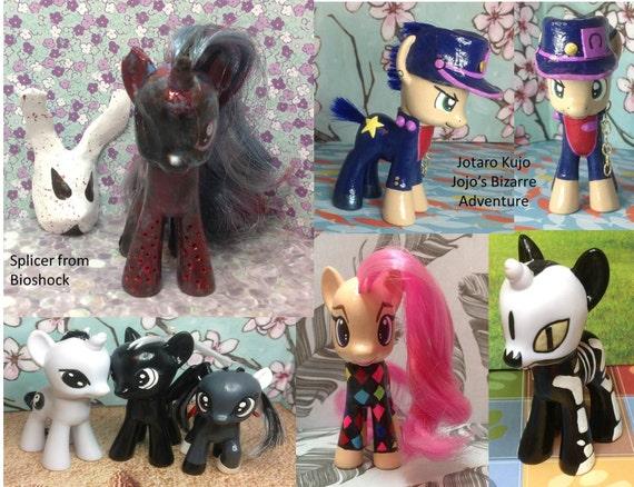 design your own custom g4 my little pony. Black Bedroom Furniture Sets. Home Design Ideas
