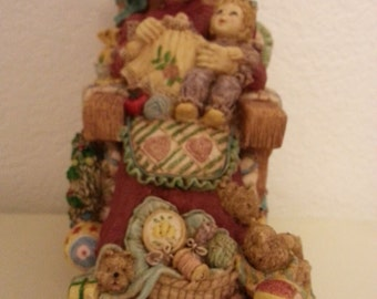 Santa Claus is Coming to Town Music Box - has broken part on rocking chair