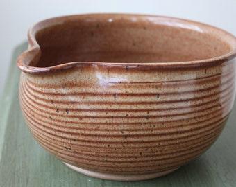 Burnt Nutmeg Ceramic Batter Bowl