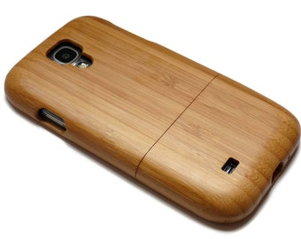 SALE Wood case for Samsung Galaxy S4 case - wooden S4 case walnut / cherry or bamboo wood