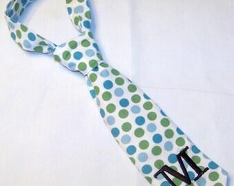 Boy Ties, Little Boy's Neckties, Baby Boy Neckties, Polka Dot Ties,  Little Man Ties,