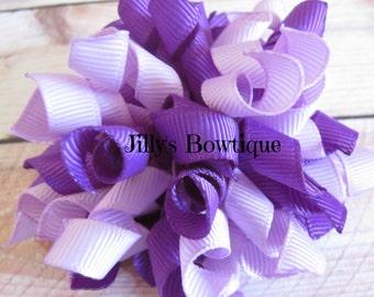 Purple Korker Bow