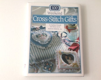 Cross Stitch Gifts, Cross Stitch Pattern, Pattern Book, Counted Cross Stitch,  Cross Stitch Project, Weekend Projects