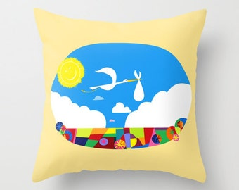 Disney's UP! Nursery Decorative Pillow Cover