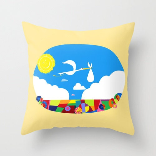 Throw Pillow For Nursery : Disney s UP Nursery Decorative Pillow Cover