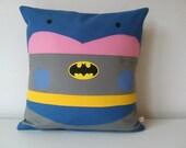Batman Kawaii CinemaAdict Cushion Cover  cotton 16x16 inches 40x40cm