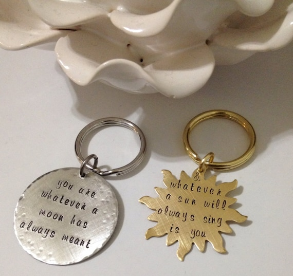 Wedding Gifts For Army Couples : Couples keychain, wedding gift, deployment jewelry, military jewelry ...