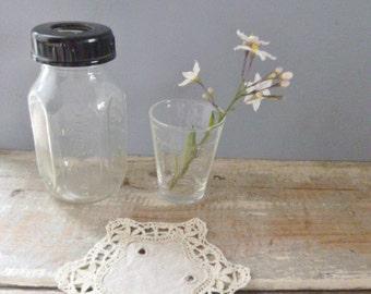 Baby bottle vintage glass evenflo measuring cup ounces vases