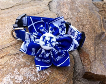 University of Kentucky Fabric Flower Accessory