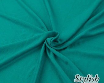 d67742810c5 Seafoam Light-weight 160 GSM Rayon Spandex Jersey Knit Fabric by the Yard -  1 Yard Style 13390