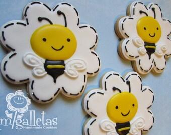 bumble bee cookies 1 dozen 36 00 amigalletas