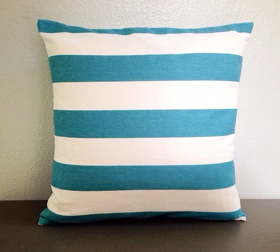 Items similar to Ready to Ship! Coastal. Blue. Decorative. Pillow. Cover. Beach. Pillows ...