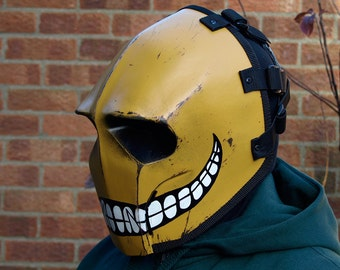 Army of Two v3 Smiley Airsoft Costume DJ Cosplay Mask - Made to order -