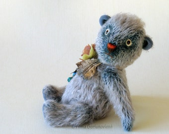 "OOAK ,Artist mohair teddy bears ""Pooh"""